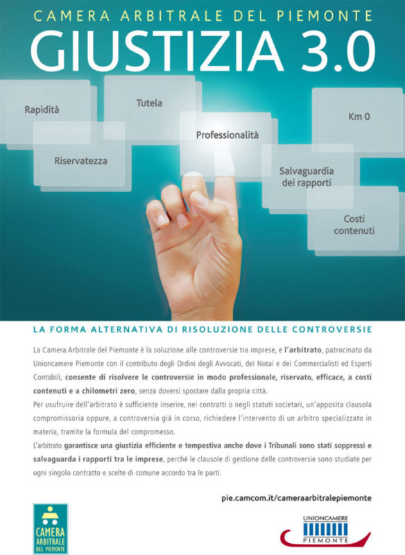 Camera Arbitrale del Piemonte – Campagna Adv