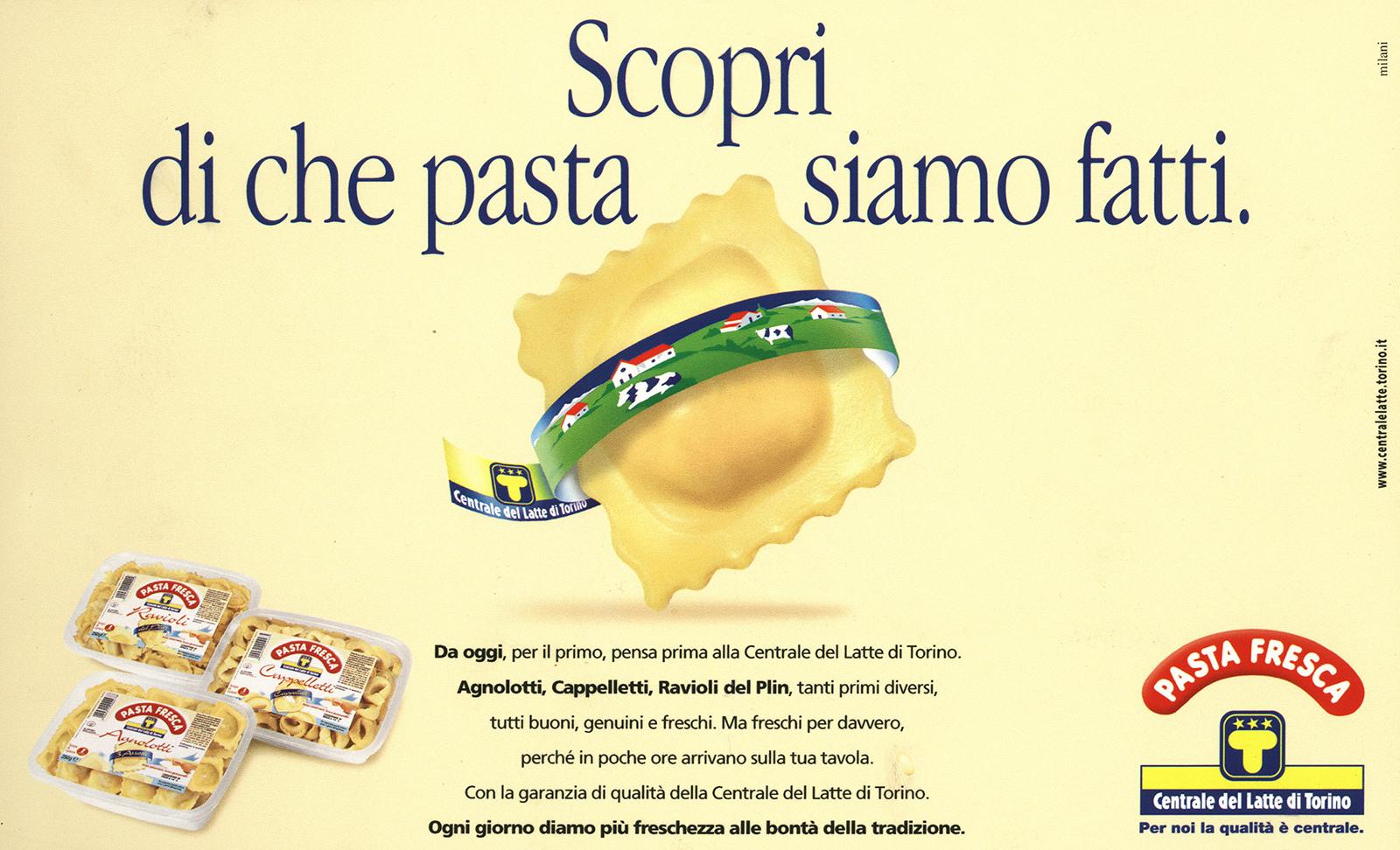 Centrale del Latte di Torino – Campagna pasta fresca