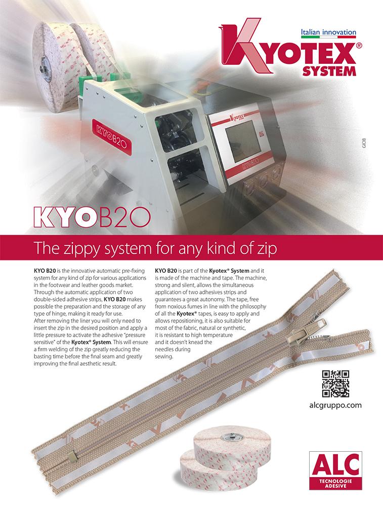 Campagna stampa Kyotex B20