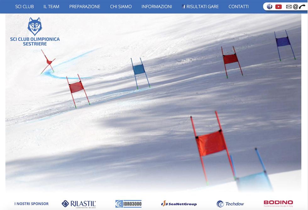 Sci Club Olimpionica Sestriere – Sito