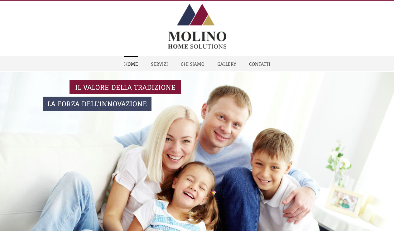 Molino Home Solutions – Sito