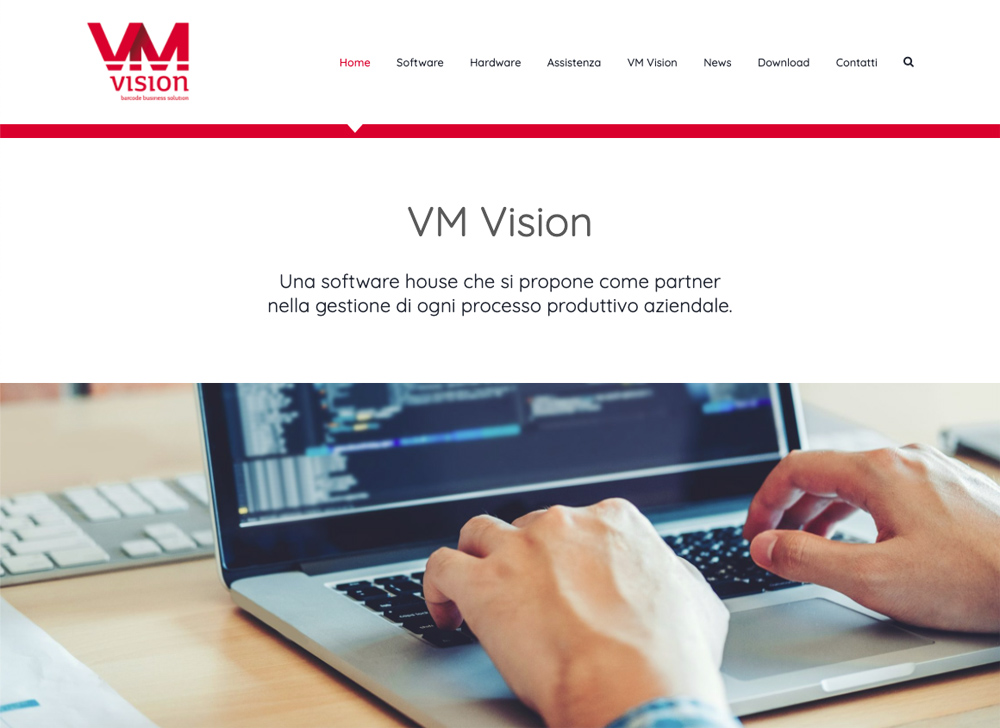 VM Vision – Sito