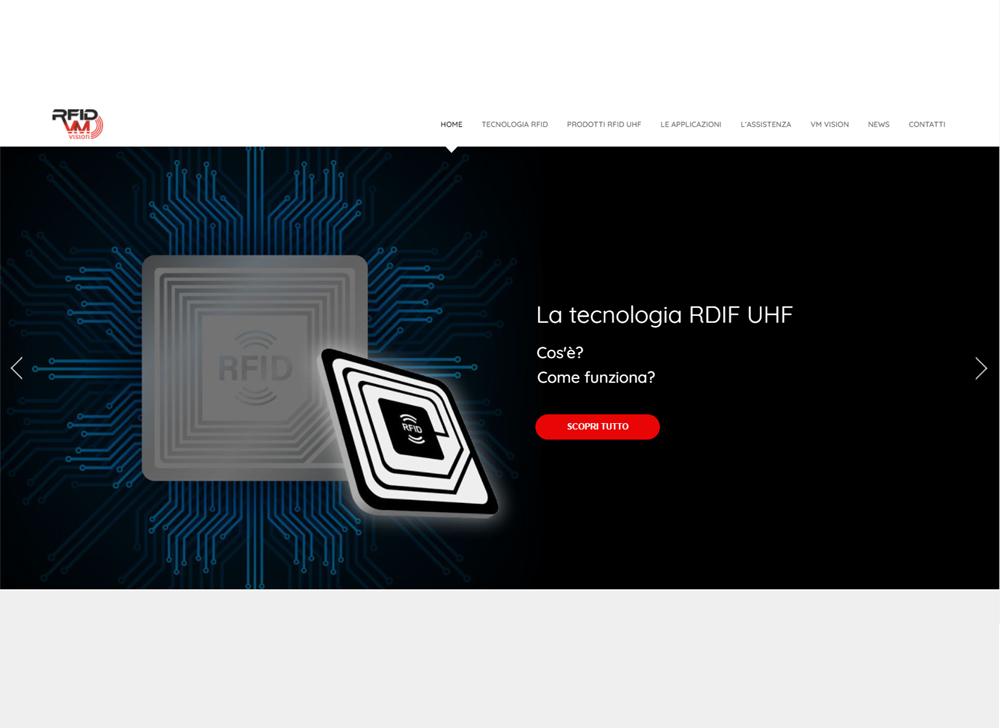 rfidmobile.it – Nuovo sito VM Vision